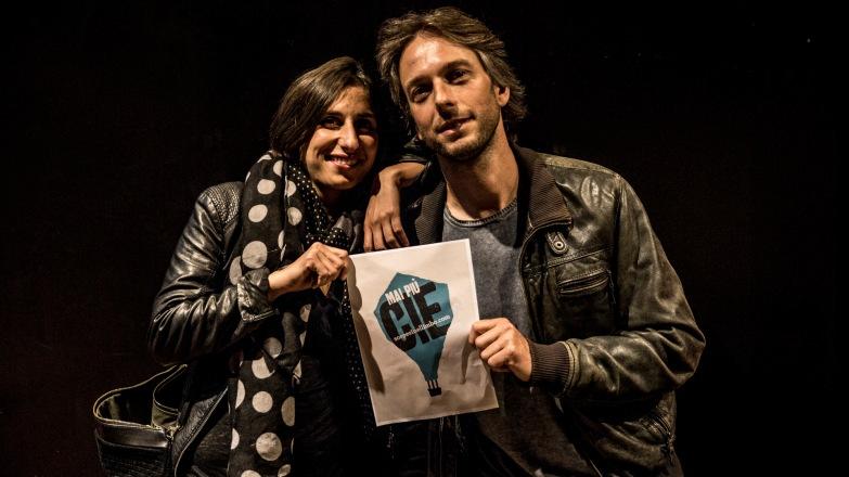 Gustav Hofer (Hiq productions) e Valentina Brinis (A Buon Diritto)